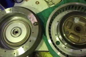 パウダークラッチの修理