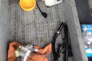サンバーKV型ブレーキ修理